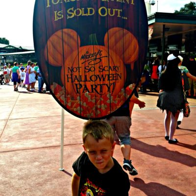 Mickey's Not So Scary Halloween Party frequently sells out! Don't wait until you get to the Magic Kingdom to buy your tickets!