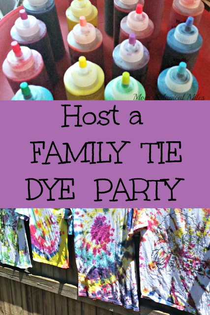 Have A Family Tie Dye Party