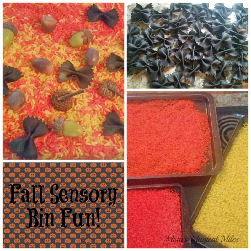 The Colors of Autumn – Beautiful Sensory Bin Fun!