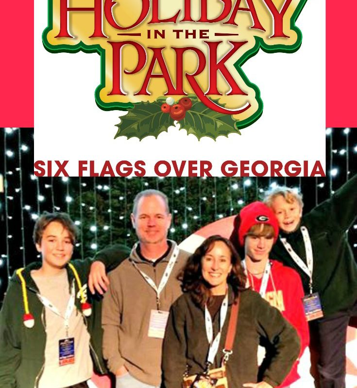 Six Flags Over Georgia Holiday In The Park 2016