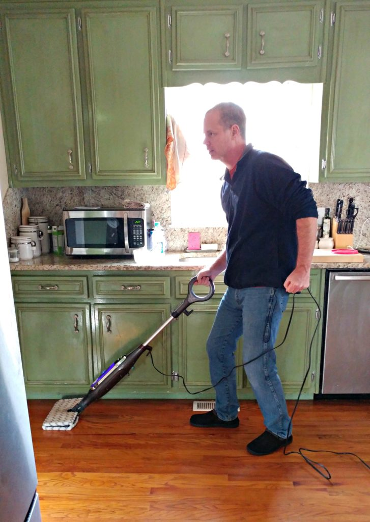 shark genius steam pocket mop system review - mom's magical miles