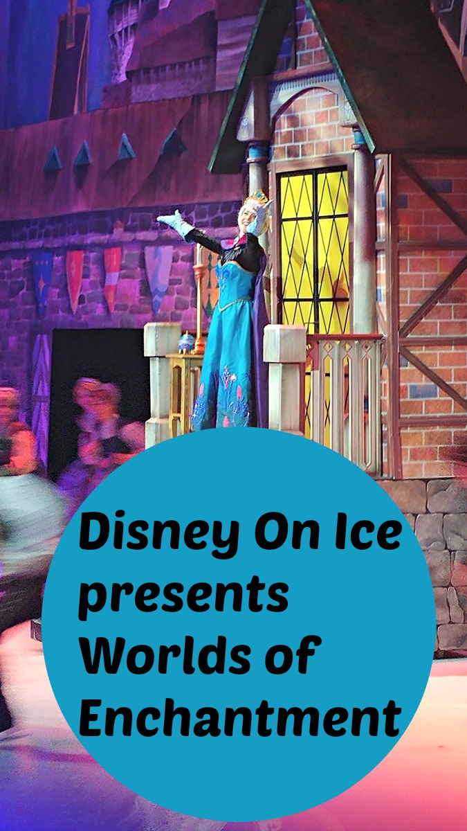 Disney On Ice presents Worlds of Enchantment is at Atlanta's Infinite Energy Arena now through April 23rd!