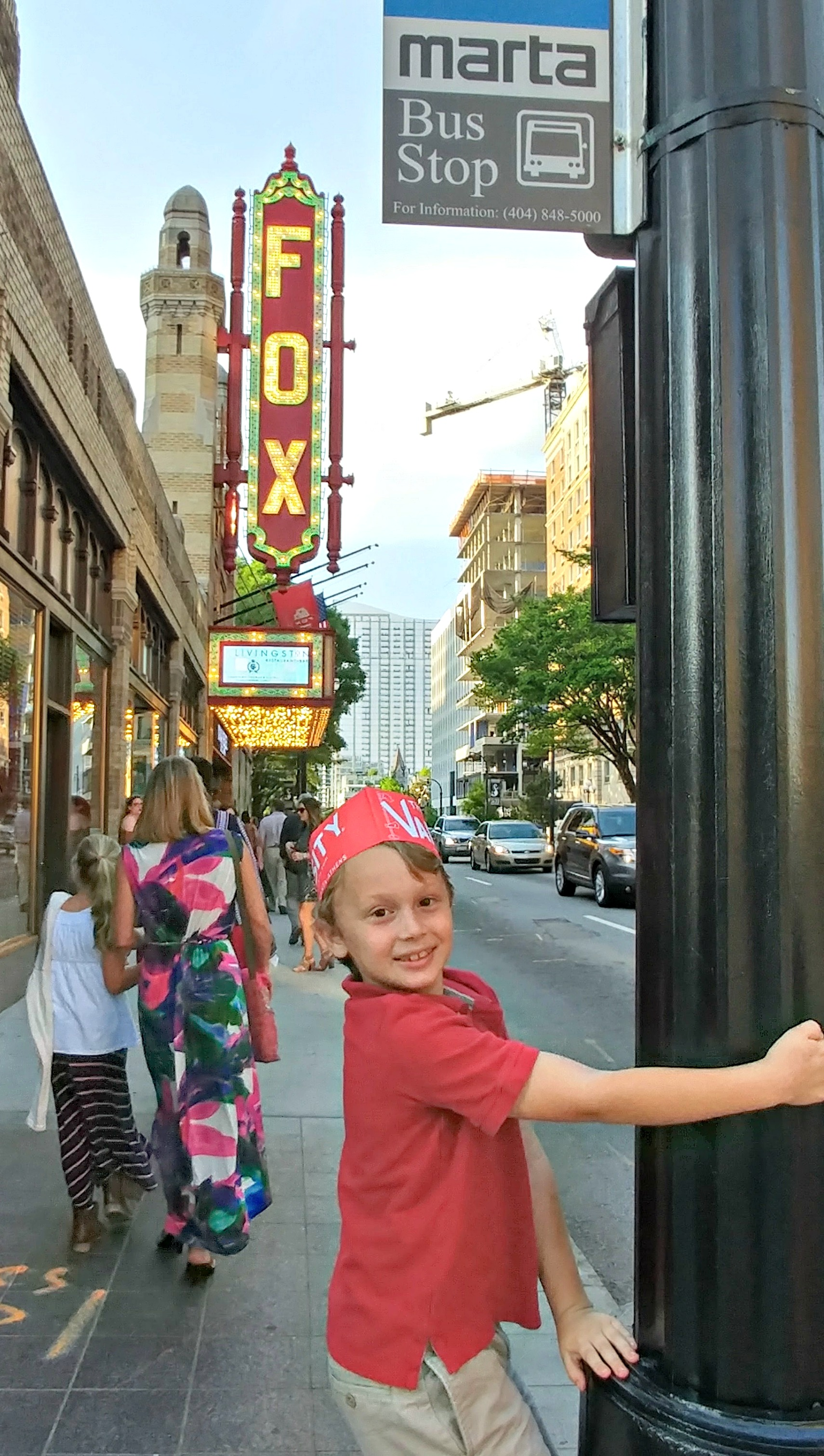 The Fox Theatre is an Atlanta landmark. They offer so many fun shows for all ages!