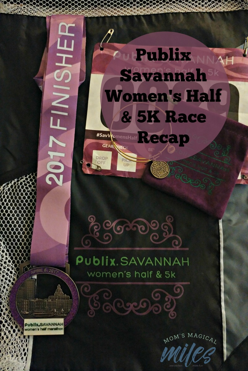 The Publix Savannah Women's Half Marathon & 5K is one of my favorites! I love the feel of this smaller race and the course is beautiful.