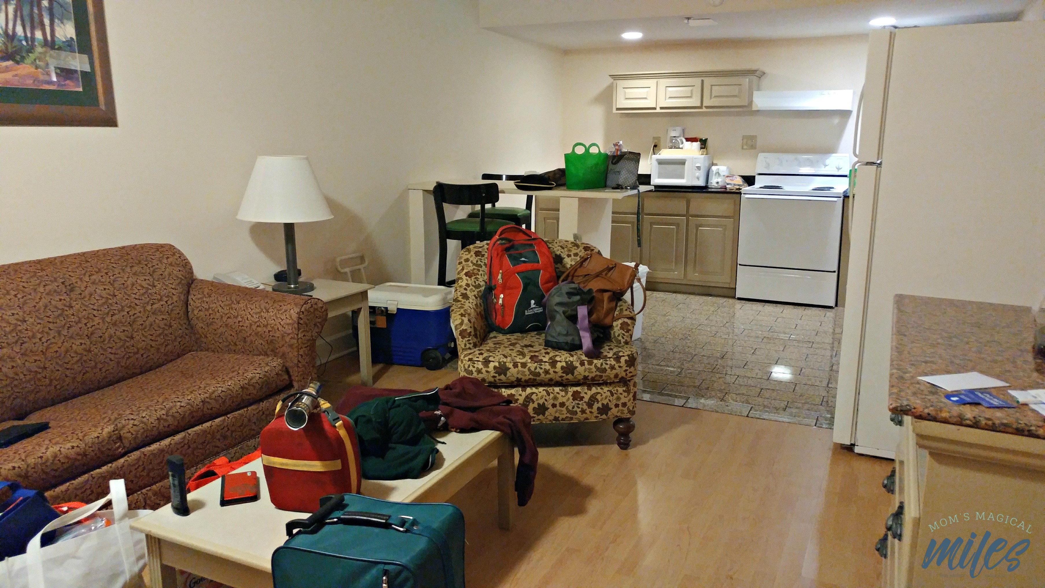 A suite at the Cumberland Inn & Suites in St. Mary's GA is a spacious way to carry out your vacation!