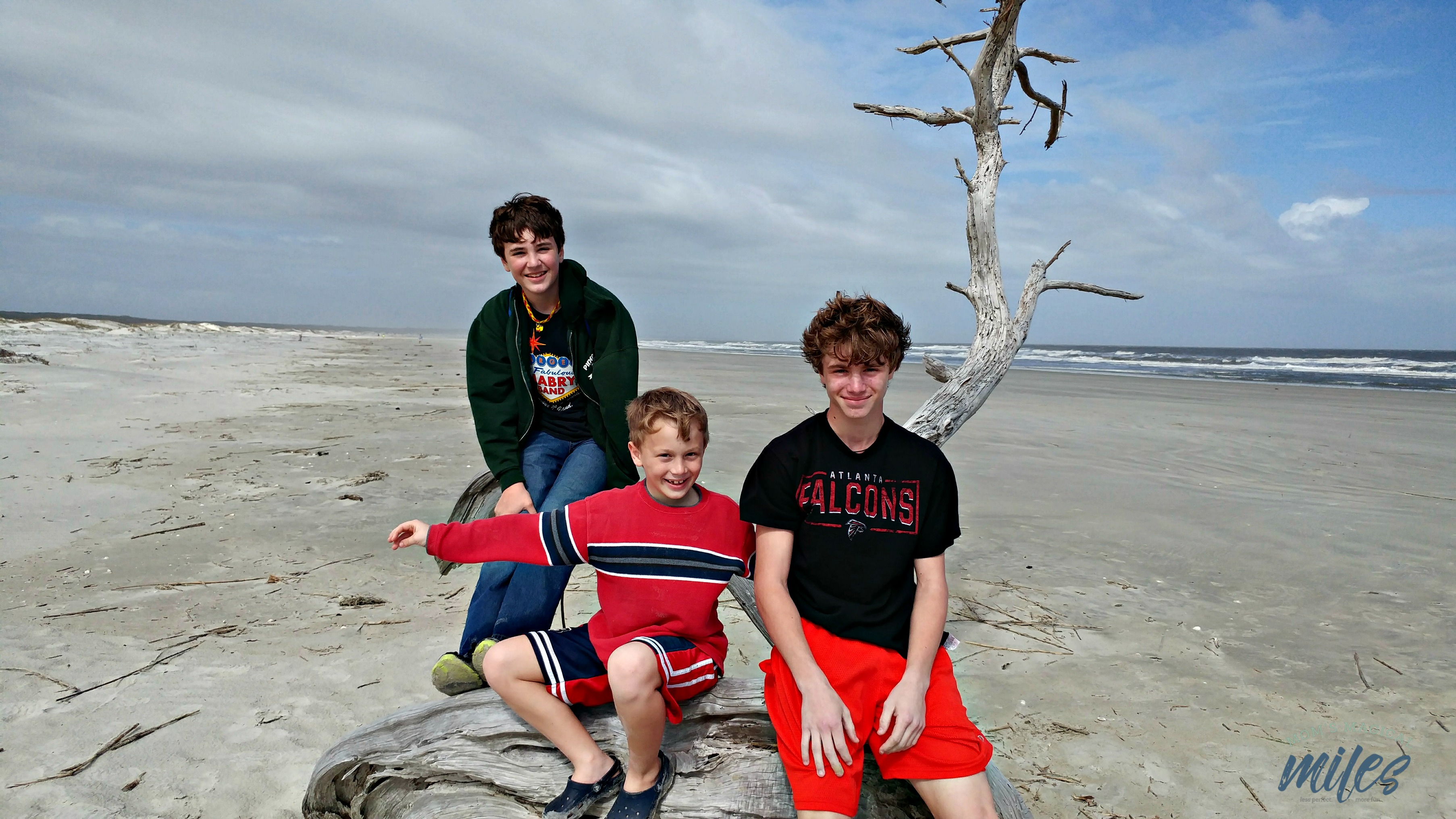 Cumberland Island on the Georgia coast boasts a pristine beach, perfect for being one with nature.