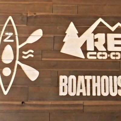 The REI Boathouse is a great new addition to Stone Mountain Park! Rent kayaks, canoes and stand up paddleboards by the hour, day or weekend!