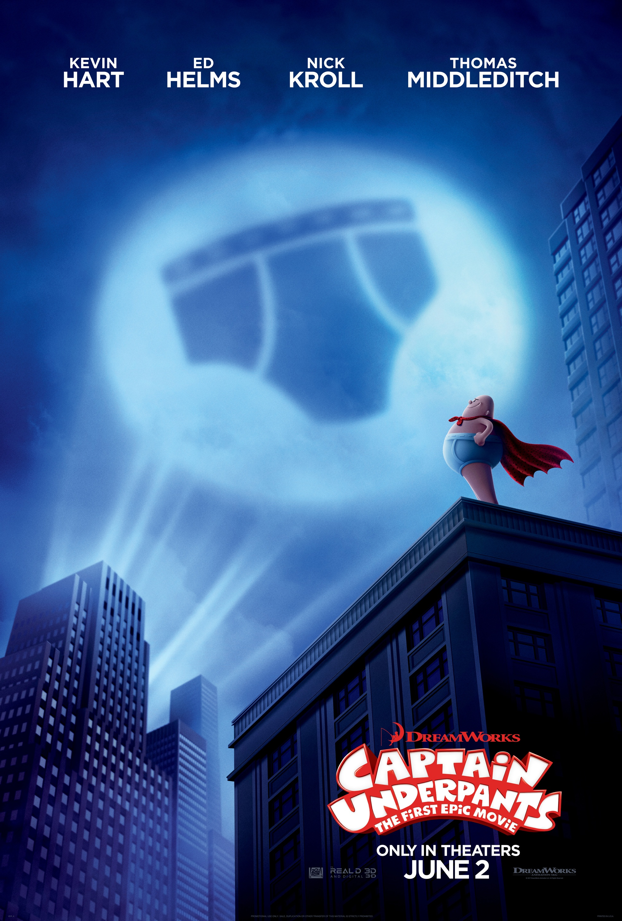This mom loves the new Captain Underpants : The First Epic Movie! Lots of giggles for kids AND parents. It opens in theaters June 2nd!