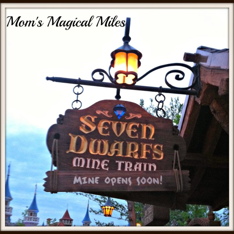 A First Look At Walt Disney World's Seven Dwarfs Mine Train Ride!
