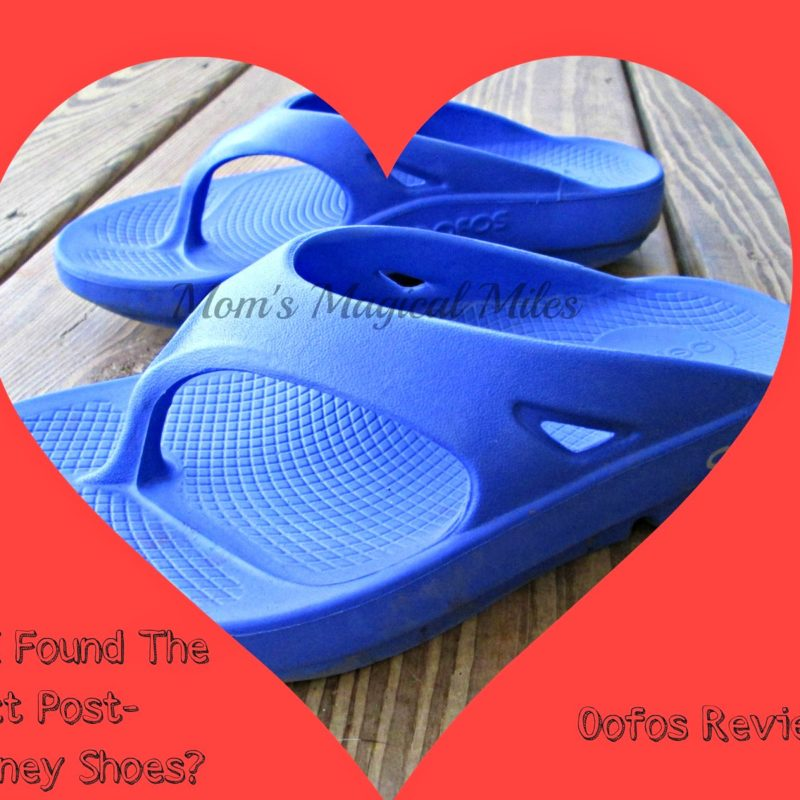 Oofos:  Have I Found The Perfect Post-runDisney Shoes?