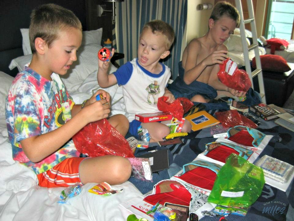 Kids love exploring fish extender gifts on the Disney Cruise Line!