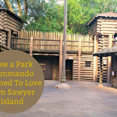 Don't be in a hurry. Take a break from Walt Disney World schedules and relax on Tom Sawyer Island!