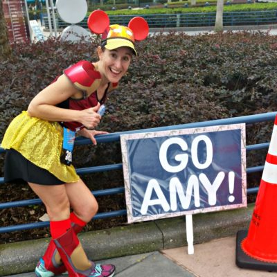 Even encouragement from a stranger can go a long way during the Walt Disney World Marathon!