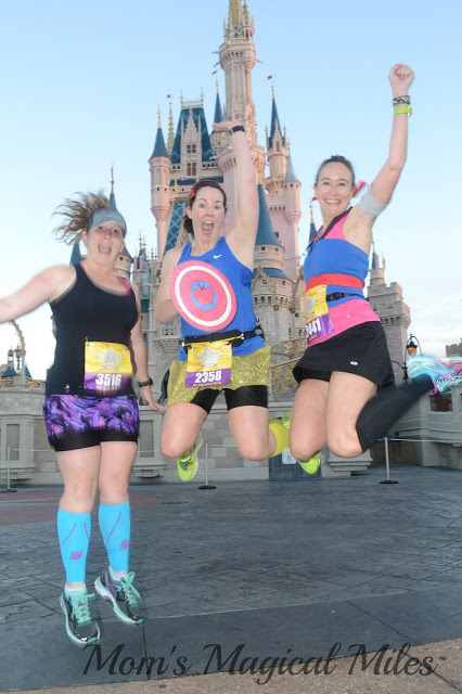 Runner etiquette: Save your Princess Half jumping shot for the castle, not on the race course.