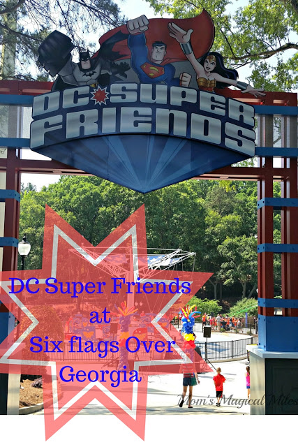 DC Super Friends at Six Flags Over Georgia