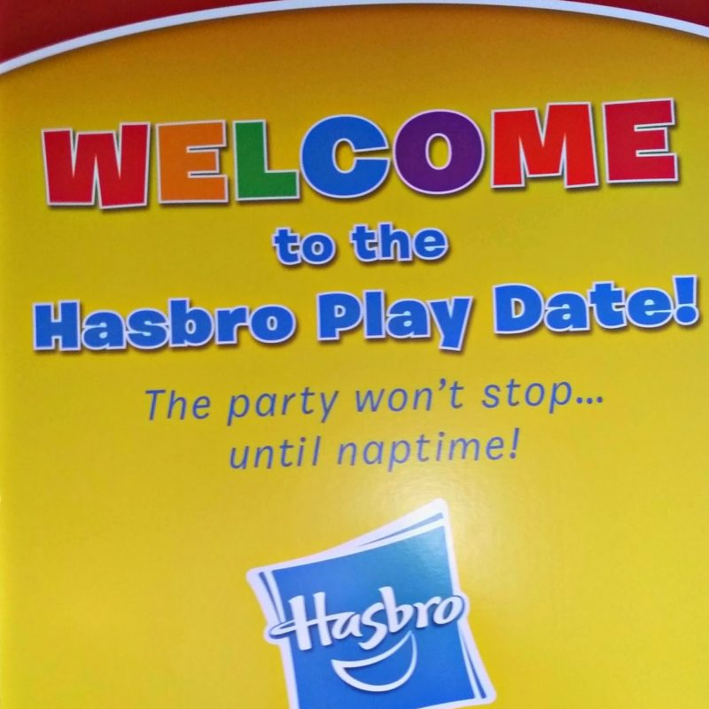 We Went On A Hasbro Playdate!