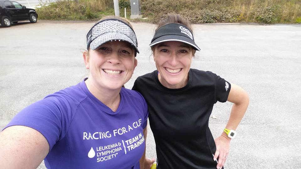 Finding a running buddy was essential for me during marathon training!