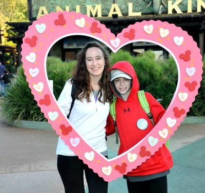 Sometimes, a little bit of Valentine's Day is allowed on a Valentine's Day Birthday. Especially if it's at Walt Disney World.
