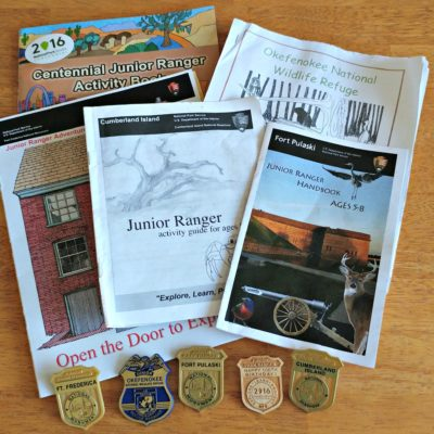 The National Park Service offers a fabulous Junior Ranger program! Work the booklets, explore the park and get your Junior Ranger badge.