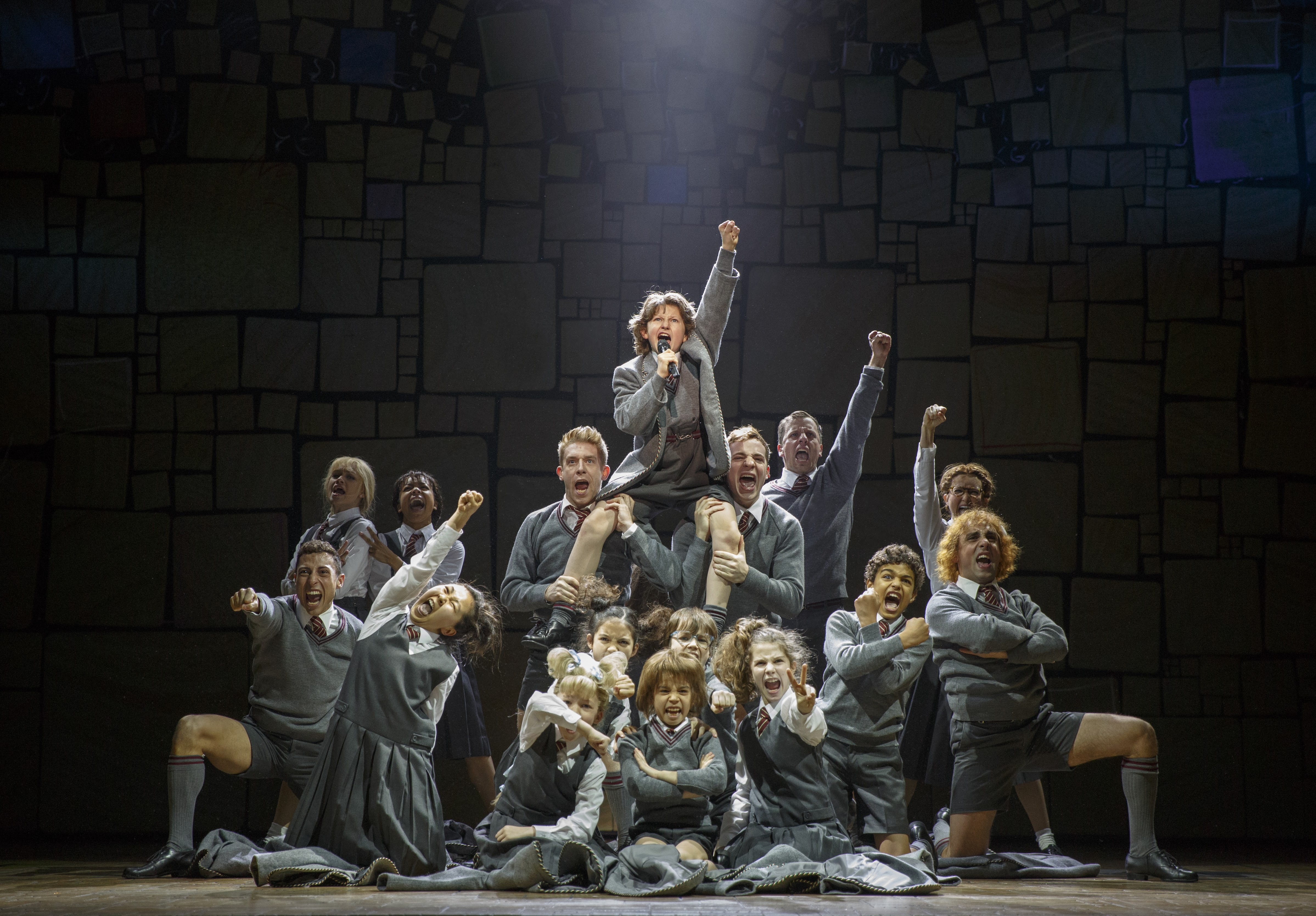 The children's cast of Matilda The Musical was amazing!