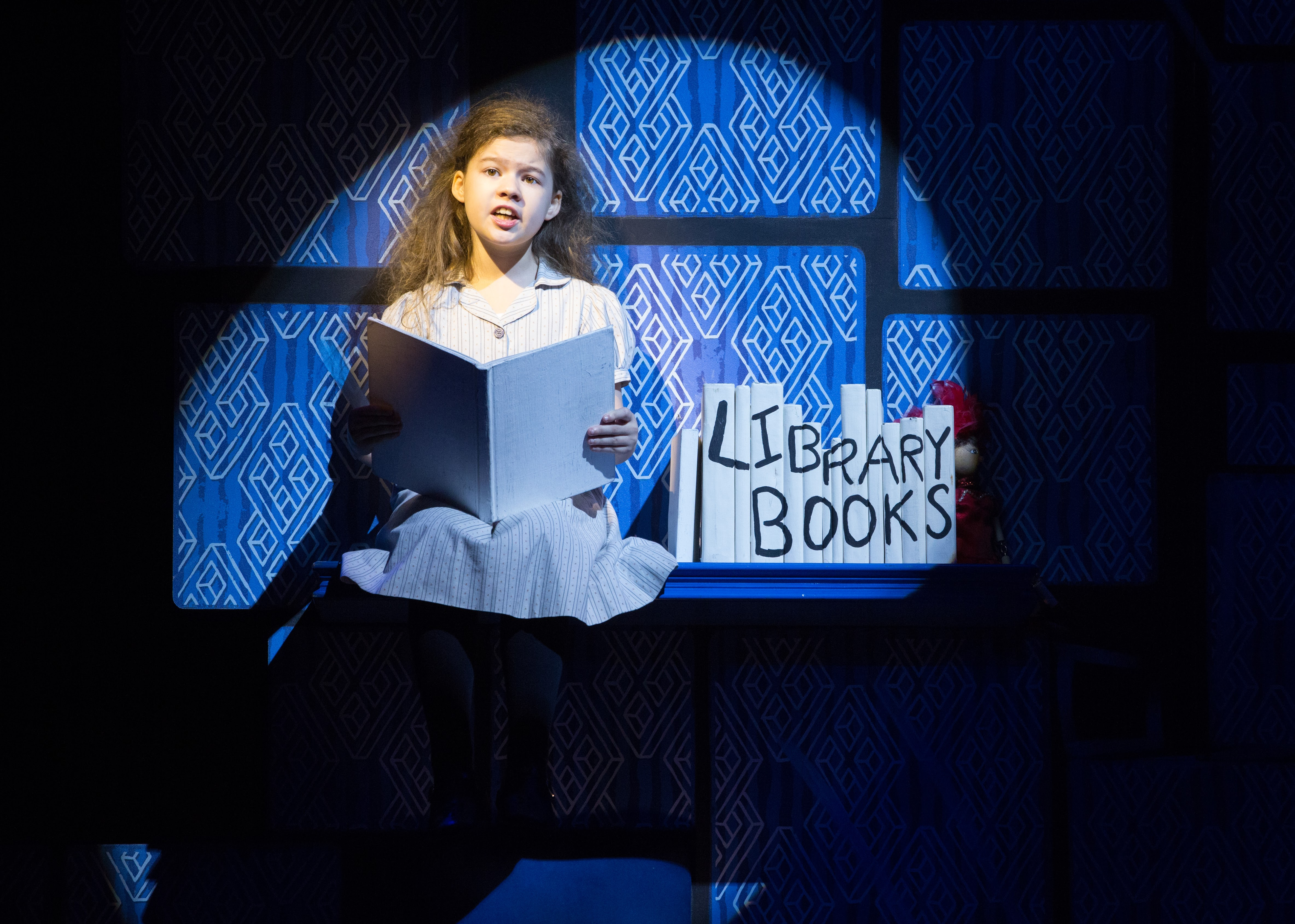 Jenna Weir as the title character in Matilda The Musical had just the right amount of spunk.