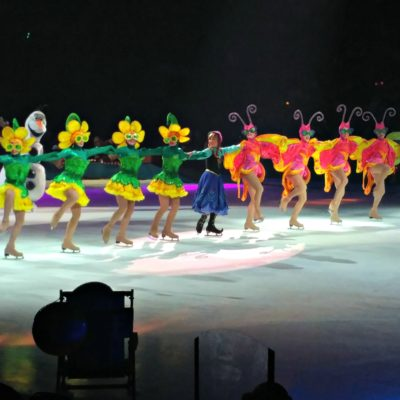 The costumes for Disney On Ice are amazing!