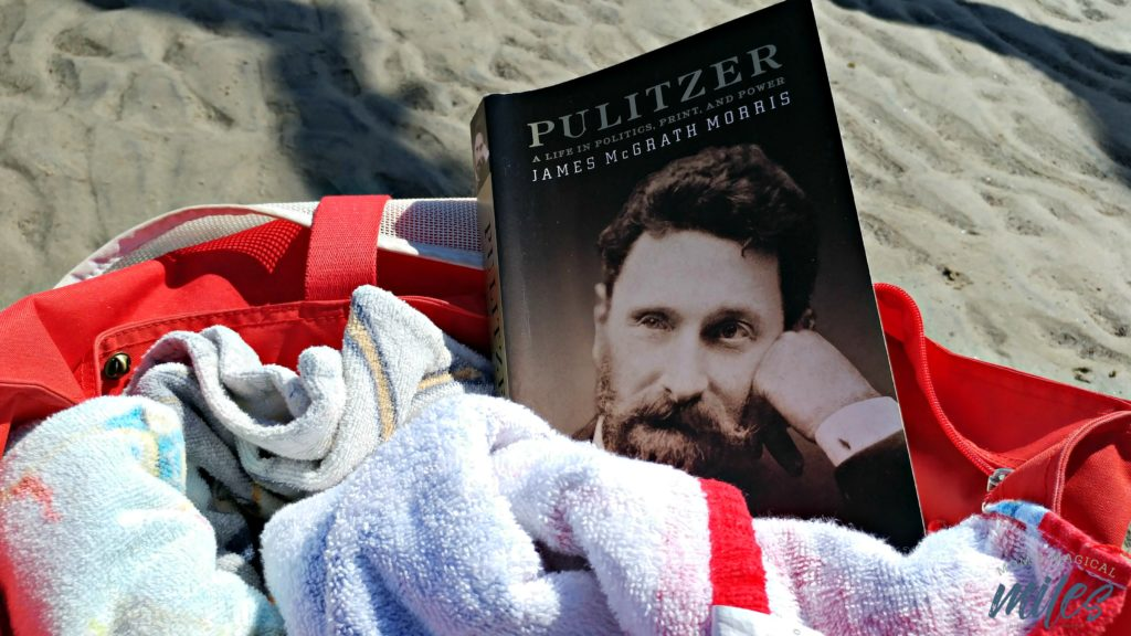 "This biography of Joseph Pulitzer probably doesn't fall into most people's ""beach read"" criteria. Given his connection to Jekyll Island, though, it seemed the perfect choice."