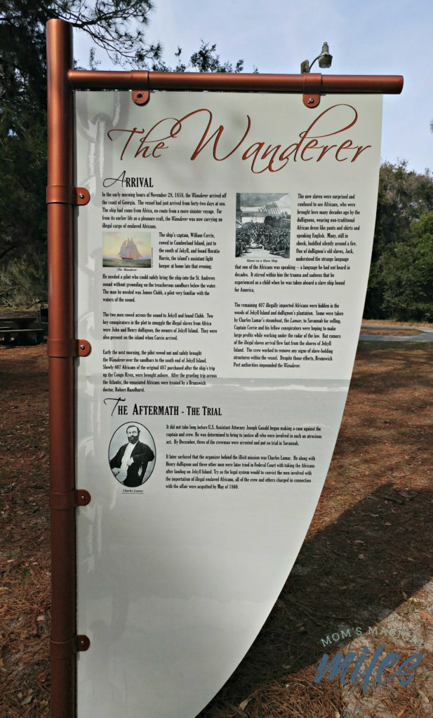The Wanderer is a less glorious but still important part of Jekyll Island's past.