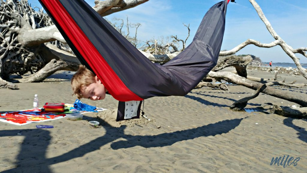 The things you can do in a hammock on Jekyll Island's Driftwood Beach.