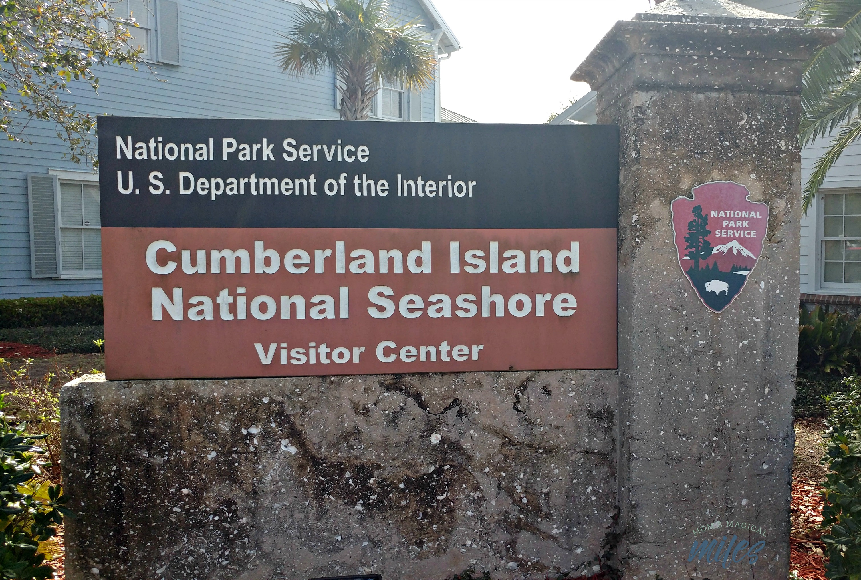 To get to Cumberland Island, you need to go through the visitor's center in St. Mary's, GA.
