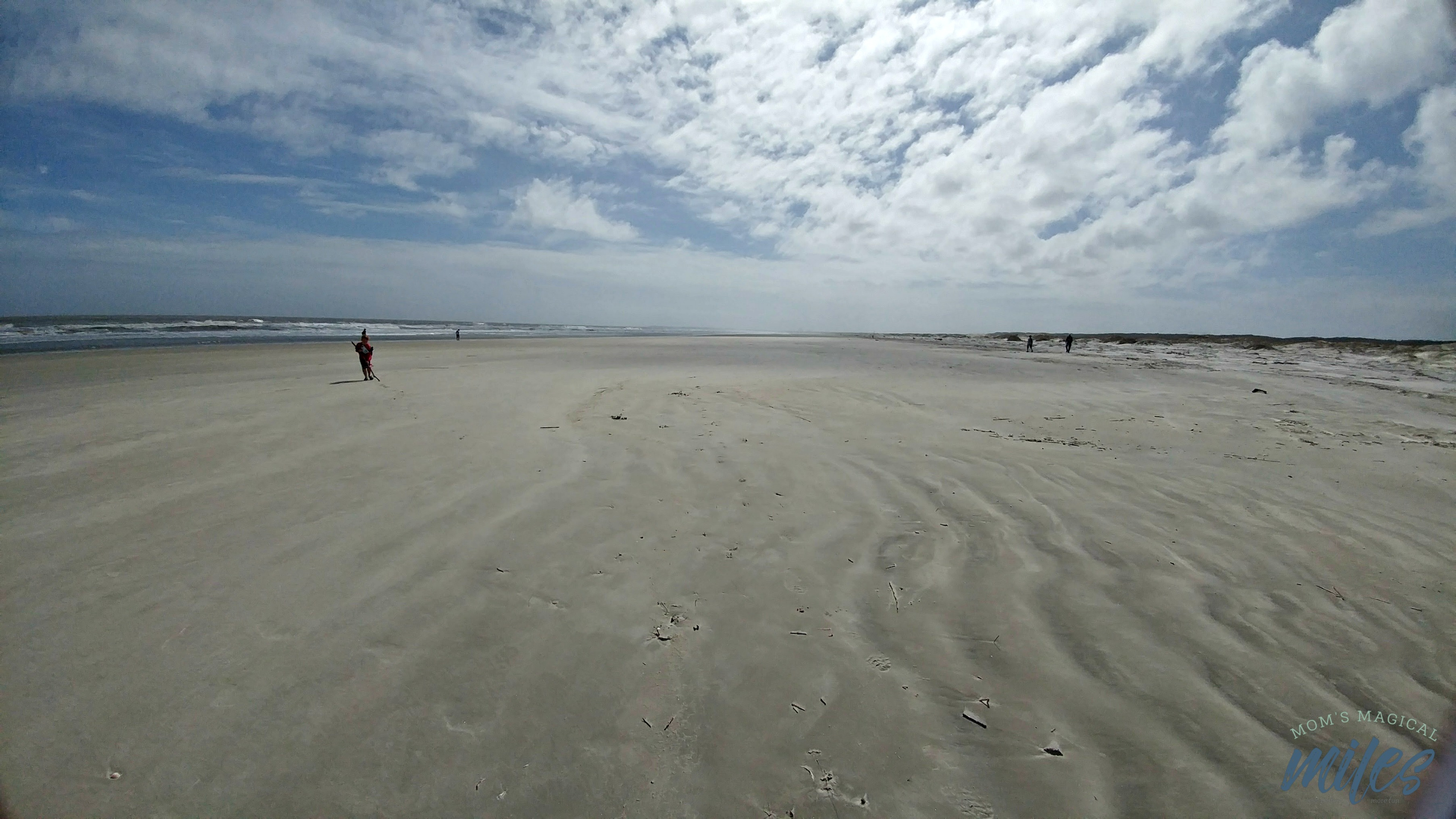 The vast expanse of beach on Georgia's Cumberland Island is breathtaking.