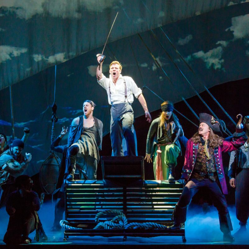 Finding Neverland at Atlanta's Fox Theatre
