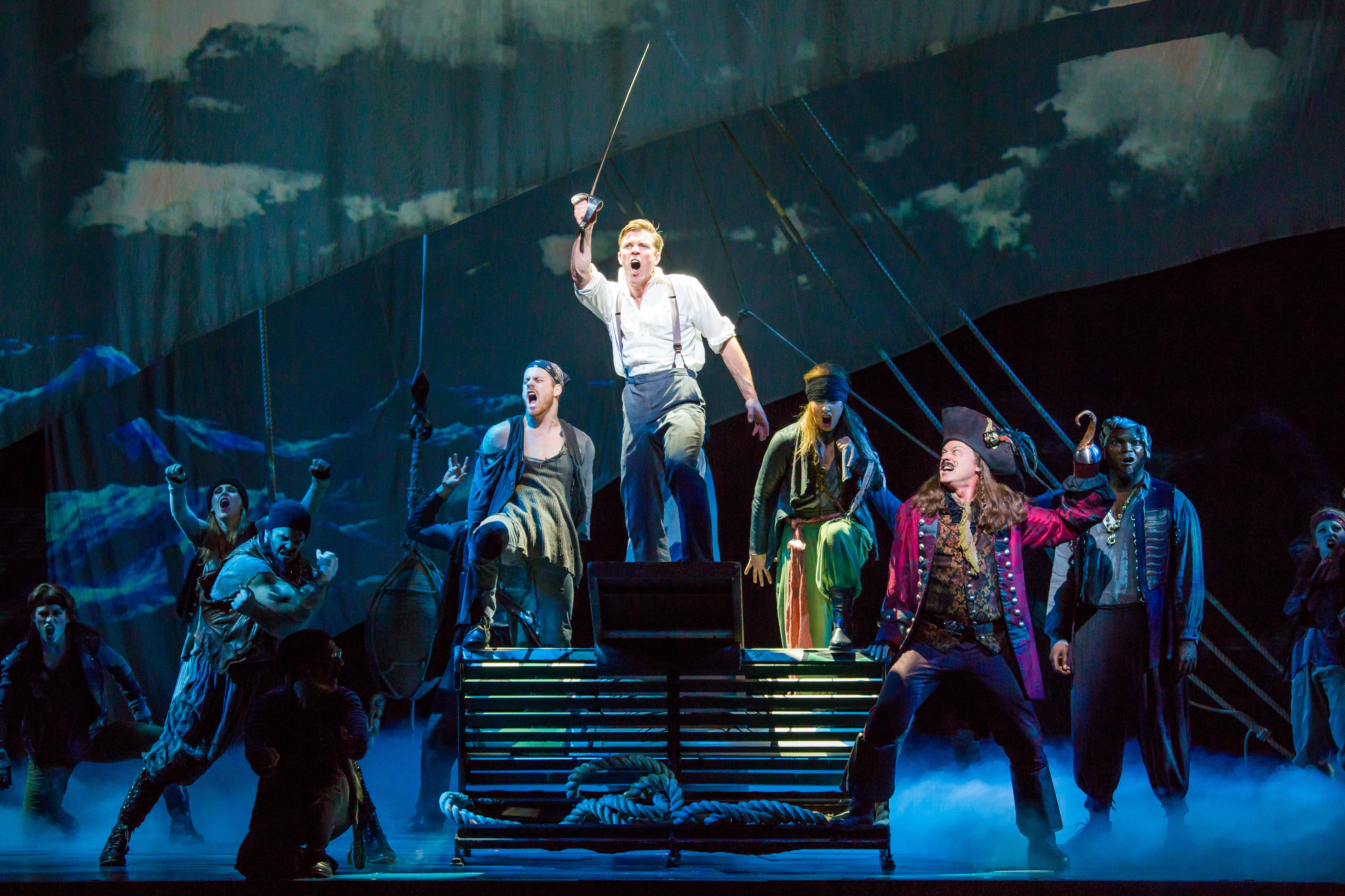 The production of Finding Neverland is full of imagination and fun!