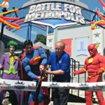 Six Flags Over Georgia: New Justice League Battle For Metropolis Ride