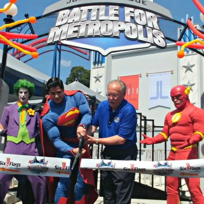 The Battle For Metropolis officially opens May 26th at Six Flags Over Georgia!