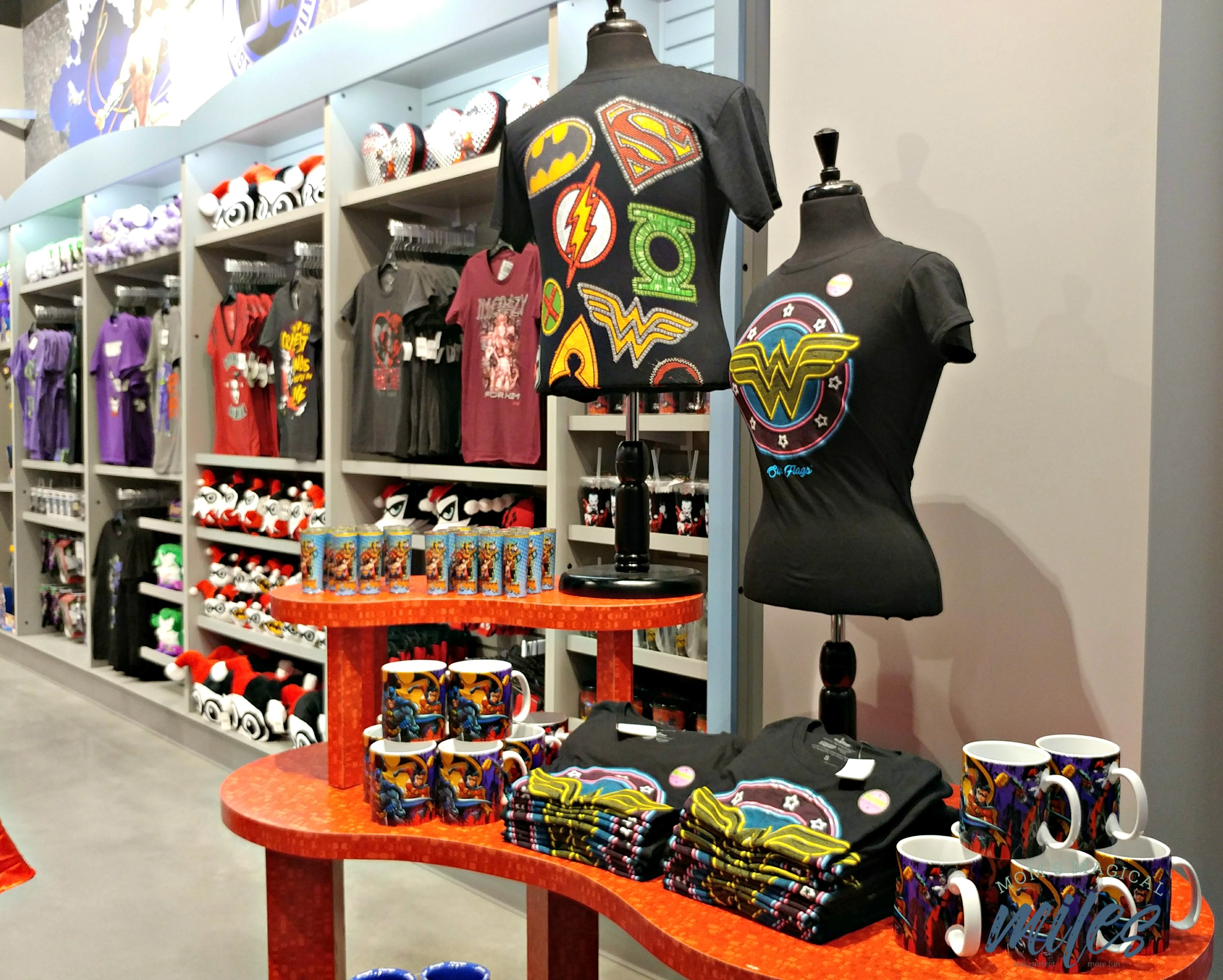 The Super Hero Store at Six Flags Over Georgia has everything your super hero could want!