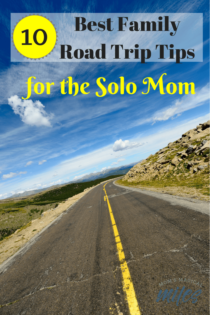 Taking the kids for a road trip without your partner? It CAN be done - no worries, mama! We've got 10 awesome road trip tips to make sure everything runs smoothly.