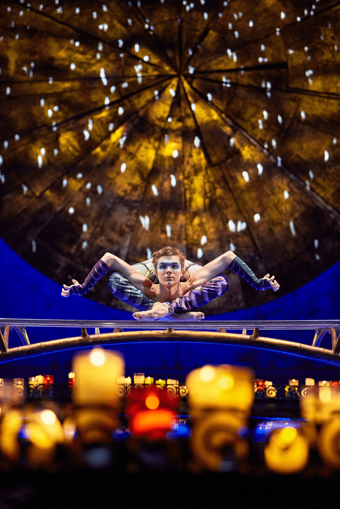 Performers in the Atlanta show of Cirque du Soleil LUZIA are often seen performing seemingly impossible feats!
