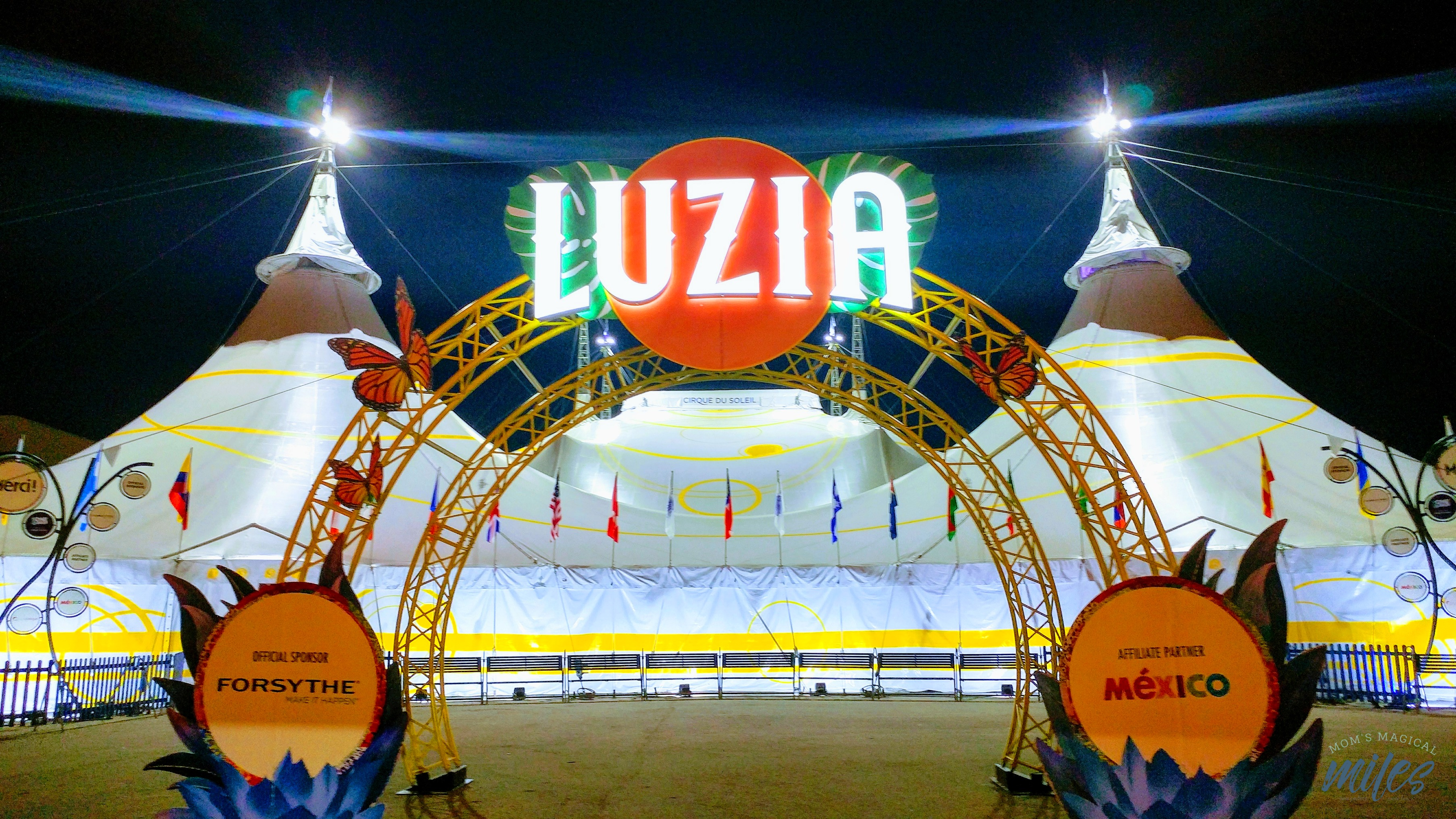 Cirque du Soleil LUZIA in midtown Atlanta is the perfect family outing this fall!
