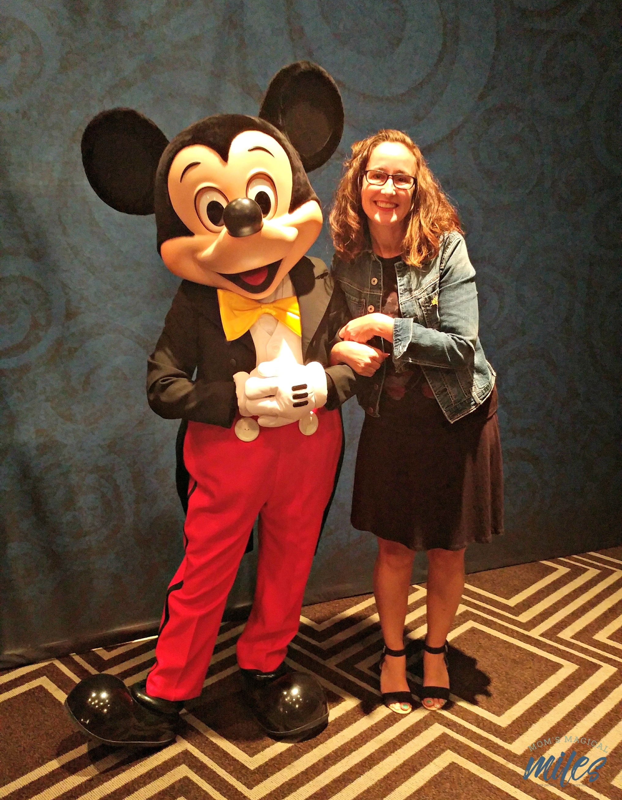 It wouldn't be a Disney Social Media Moms Celebration without the Mouse that made it all happen!