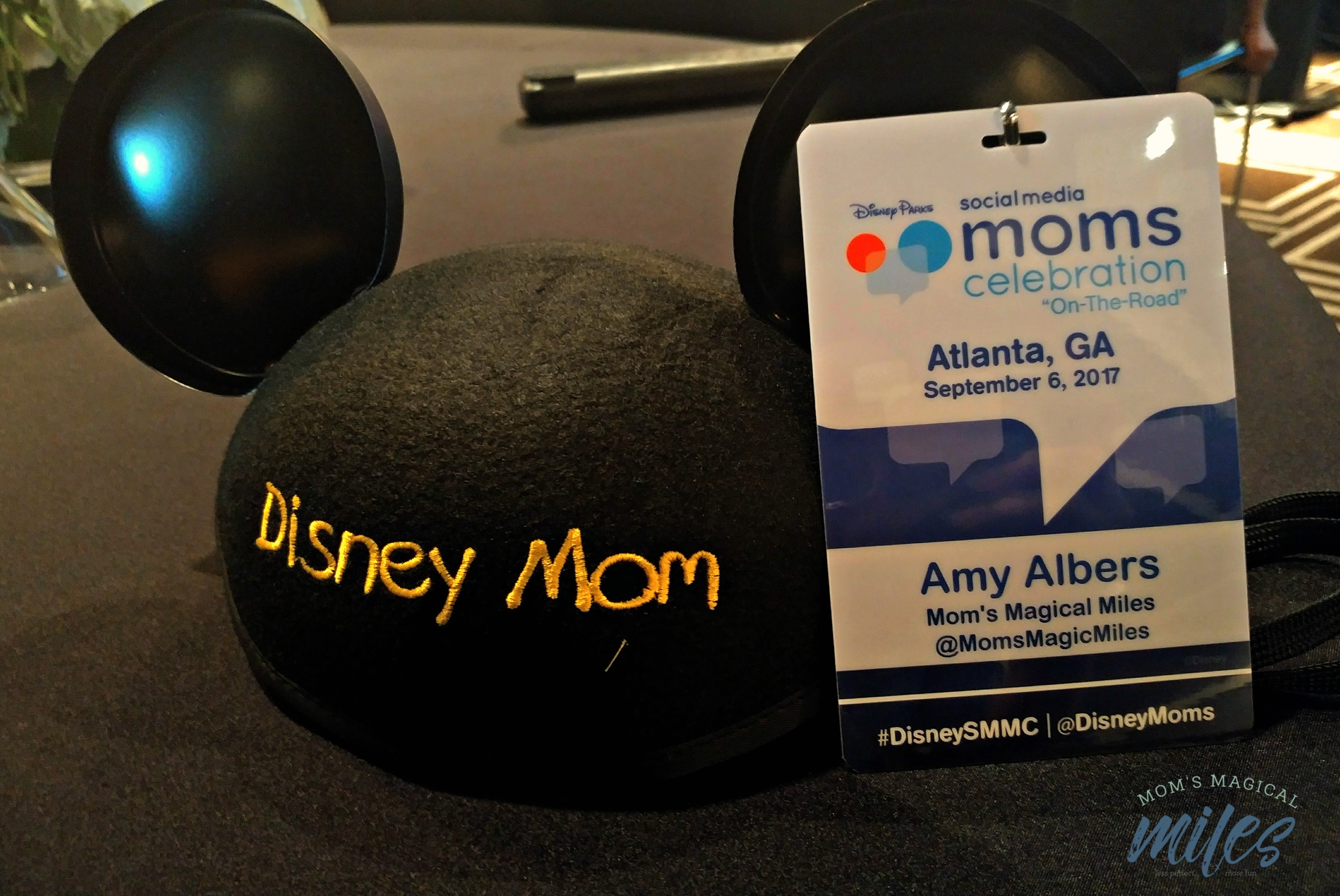 Expect little touches of Disney Parks magic throughout your Disney Social Media Moms Celebration On-The-Road experience!
