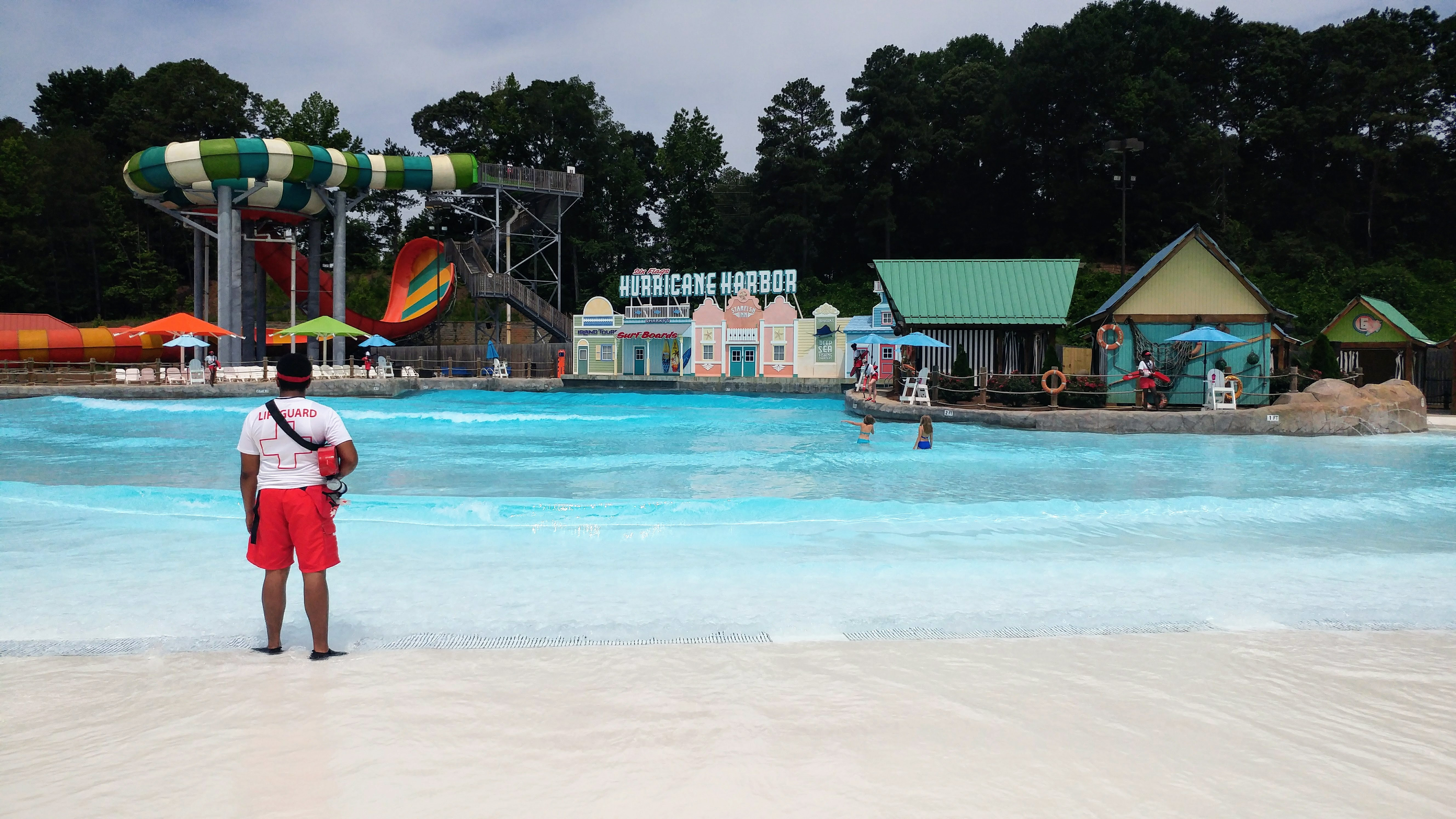 Had enough of the heat? You can find even more kid-friendly rides at Six Flags Over Georgia if you head to Hurricane Harbor!
