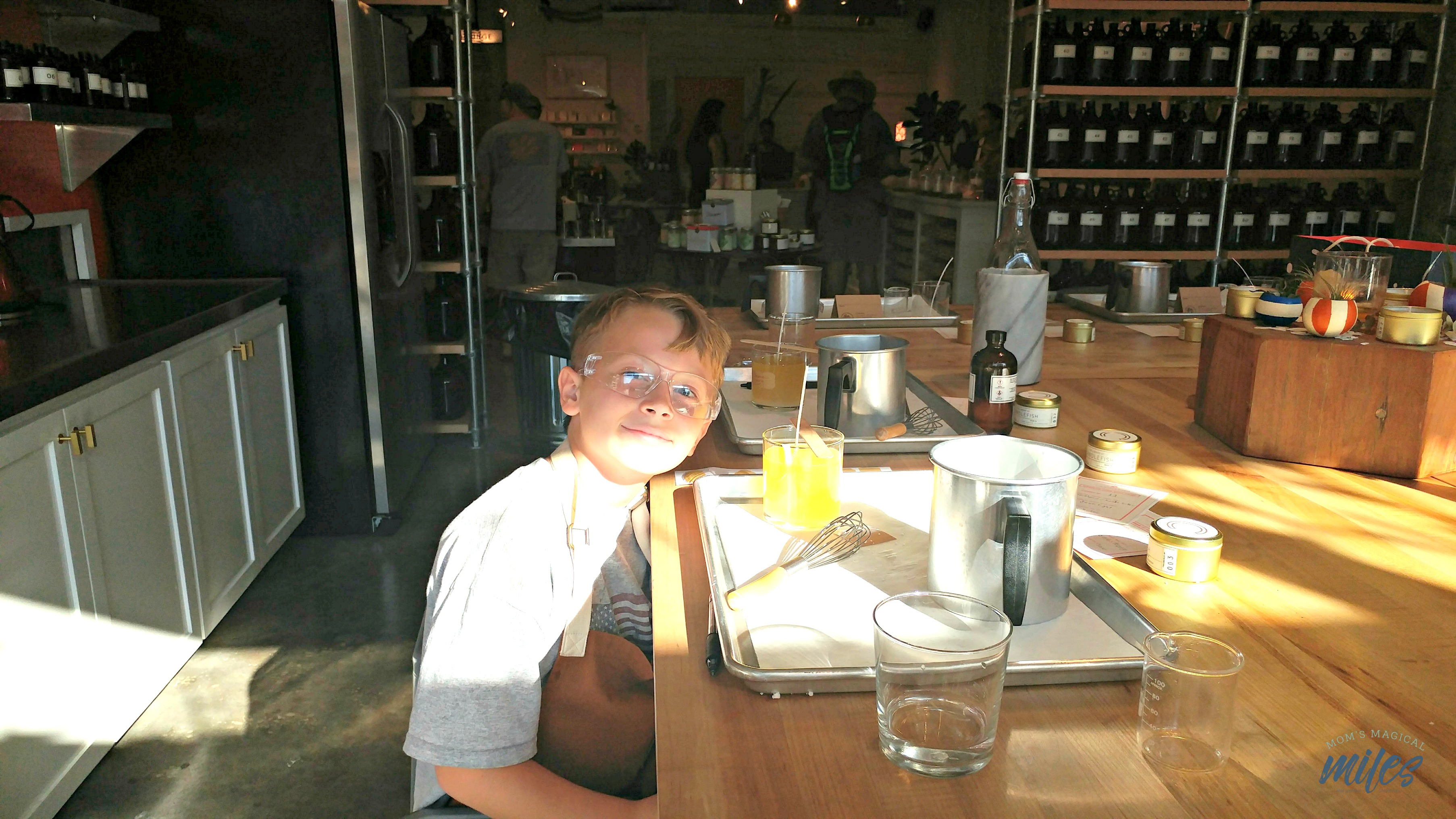 Kids can feel proud of crafting their very own candle at the Candlefish Atlanta Junior Chandler Workshop!