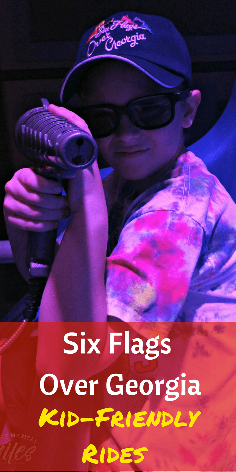 There are plenty of kid-friendly rides at Six Flags Over Georgia! You'll find family rides that everyone can enjoy.