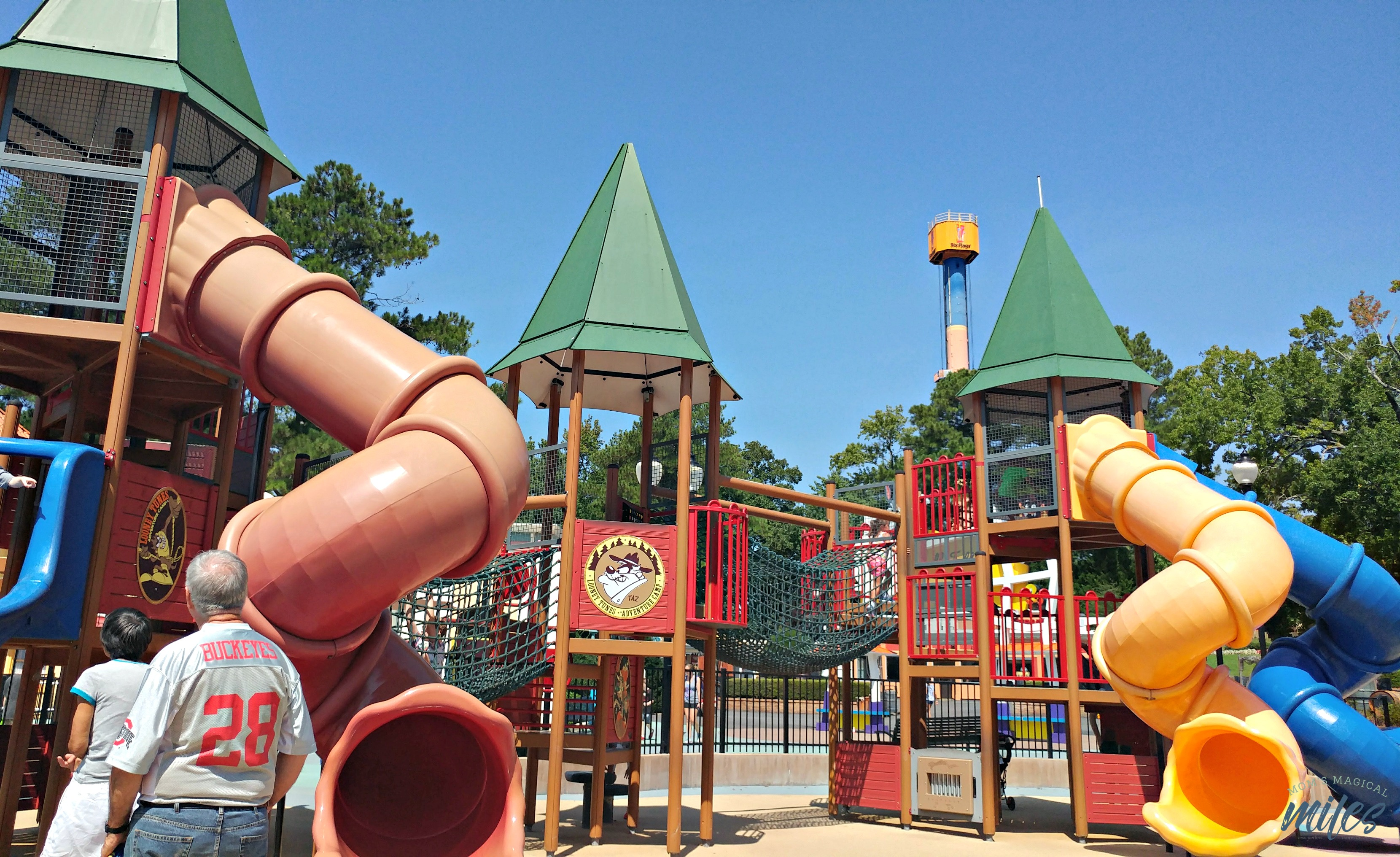 Enjoy some low-tech fun for the youngest of guests at Six Flags Over Georgia in Bugs Bunny Boomtown.