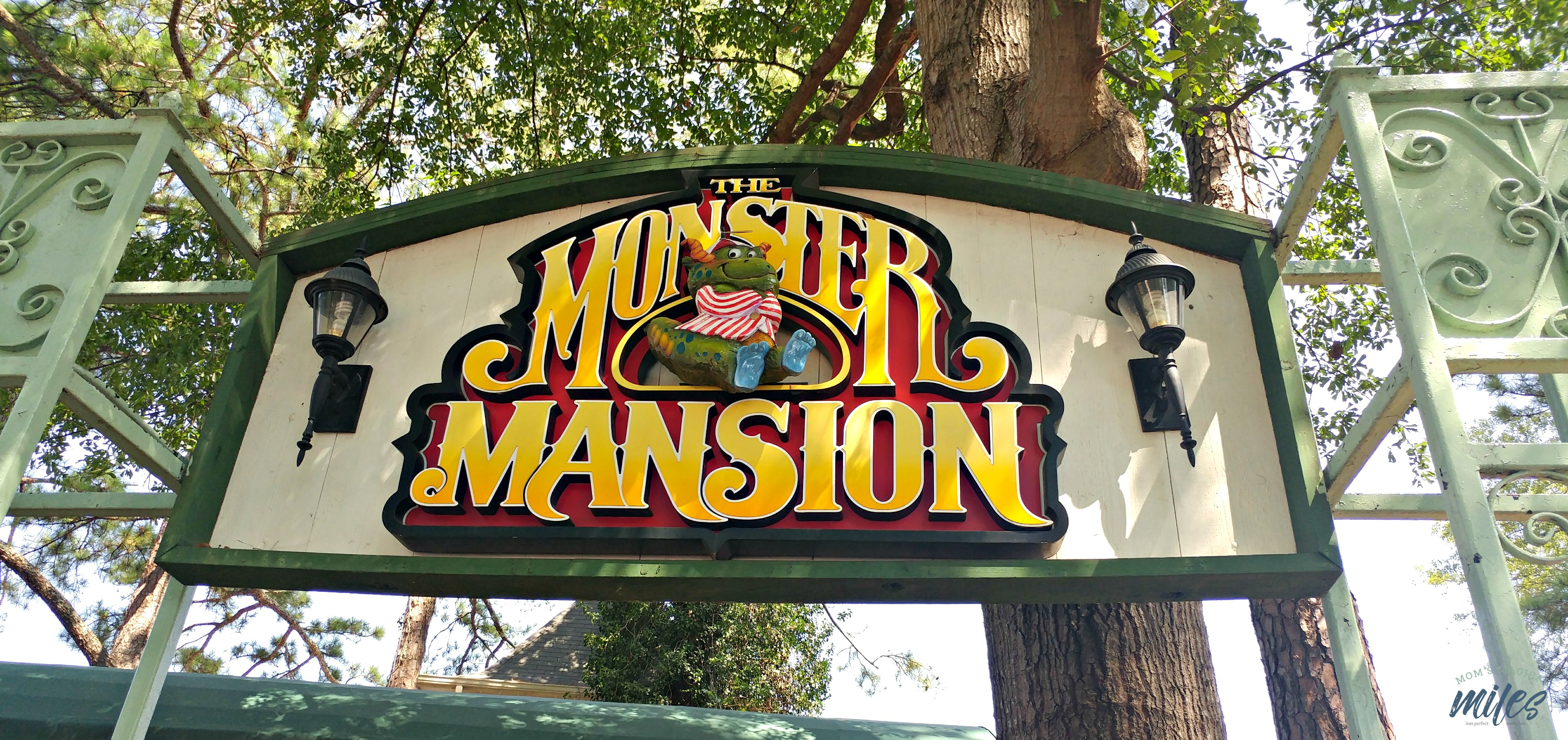 The Monster Mansion has been at Six Flags for over 30 years and is one of the original kid-friendly rides at Six Flags Over Georgia.
