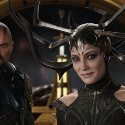 Cate Blanchett shines as the first leading female villain in a Marvel movie! Thor: Ragnarok opens nationwide on November 3rd.