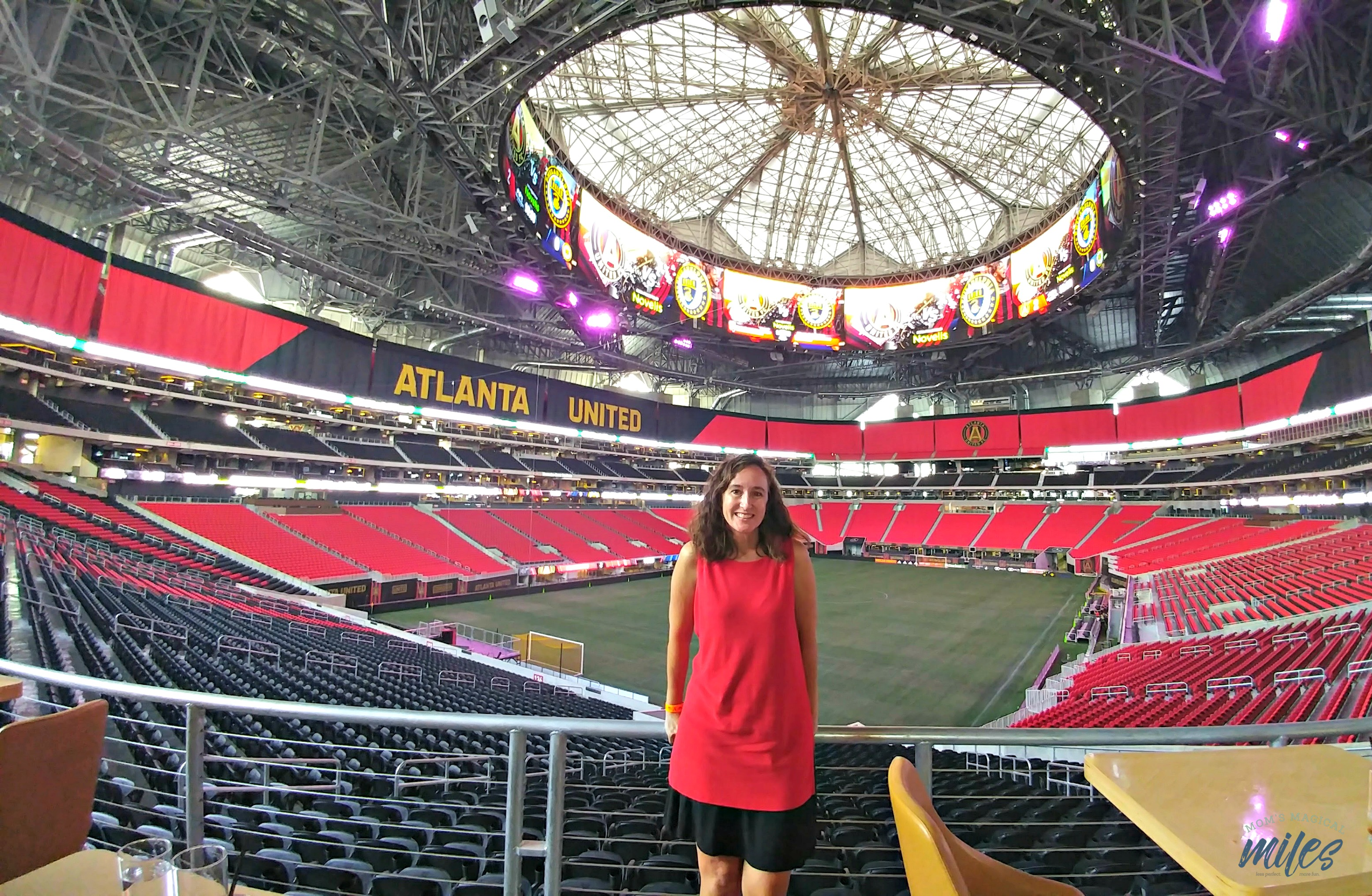 8 fun things to discover on the atlanta mercedes benz for Atlanta ga mercedes benz stadium