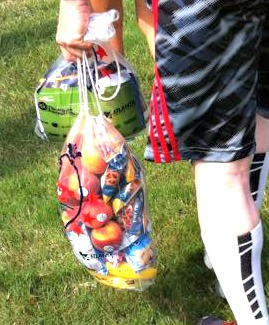 My biggest running etiquette pet peeve - people who load up on post-race food like they are grocery shopping.