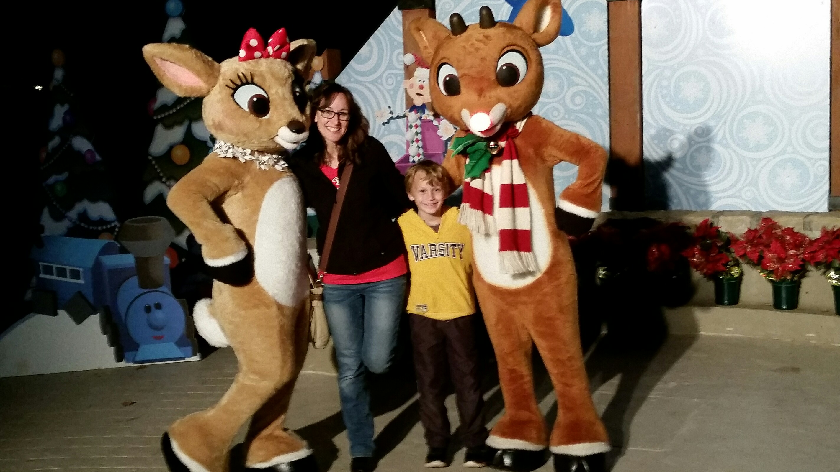 Strike a pose with your favorite reindeer at Stone Mountain Christmas!
